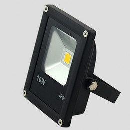Wholesale Ir Floodlight Outdoor - 1X 10W 20W 30W 50W LED Outdoor Floodlight AC85-265V RGB Warm White Cool White with IR Remote Controller 16 Colorful
