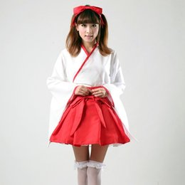 Wholesale Cosplay Miku Hatsune Dress - Wholesale-Free Shipping Japanese Anime Vocaloid Miku Hatsune Cosplay costumes TOP + SKIRT Halloween Outfits Fancy Girls Dress Costumes