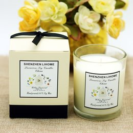 Wholesale Candles Making - Romantic scented decorative glass candles jars for birthday wedding party decoration birthday candle scented candle making wedding decor