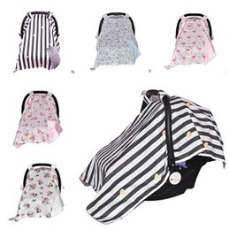 Wholesale Wholesale Car Seat Covers Accessories - Baby Stroller Cover Car Seat Covers Universal Stroller Accessories Seat Decoration Sun Shade Canopy Dustproof Blanket DHL Free Shipping