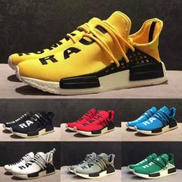 "Wholesale Cheapest Kids Winter Shoes - With Originals Box NMD ""HUMAN RACE"" Pharrell Williams x 2016 Men's & Women's Classic Cheap Fashion Sport Kids Shoes"