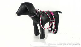 Wholesale Steel Collars Leashes - Small Dog Leash Pet Products Dog products Wire beads Leash-DHL Fashion