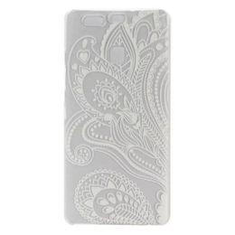 Wholesale Tattoo Case Plastic - Dream Catcher Bohemian henna Flower Tattoo Mandala Paisley Clear Plastic Case for Huawei P9 P9 Lite