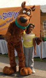 Wholesale Scooby Doo Mascot Costumes - Classic mascot costume brand new scooby doo mascot costume Scooby - Doo clothing dog mascot costume