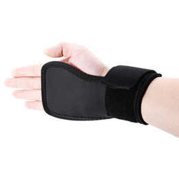 Wholesale Sports Equipment Grip - Wholesale-New 1 Pair Adjustable Weight Lifting Gym Straps Wrist Support Sports Training Gloves Bar Grip Barbell Fitness Equipment