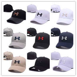 Wholesale Hip Hop Snapback Cap Hats - Good Fashion Brand UA Snapback Caps Casquette Adjustable Hat Football Men Women Hip hop fitted Basketball Baseball Hat Street Dancing 2017