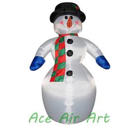 Argentina Muñeco de nieve inflable vendedor caliente 2017 de la Navidad blanca en China Suministro