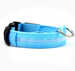 Wholesale Dog Collar Wire - Dog Collars Pet Glow Collar Pet LED Glow Collar Wire Mesh Collar Dog Supplies Dogs Collars Glow