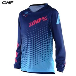 Wholesale Polyester Motocross - Cycling Jerseys 2017 Hot Product 2017 Moto Jersey MX MTB Off Road Mountain Bike DH Bicycle Moto Jersey DH BMX Motocross 3 Styles