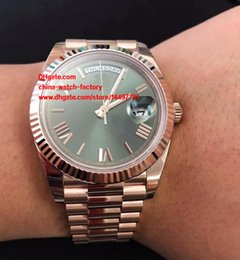 Wholesale Gold Mens Divers Watch - 3 Color Luxury High Quality Automatic Watch 41mm Day Date II 228235 Roman Dial 18k Rose Gold Asia 2813 Movement Mechanical Mens Watches