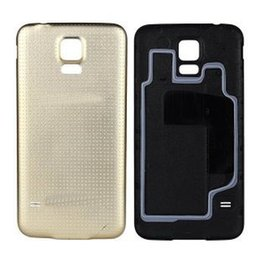 Wholesale Fit Back Door - Cell Phone S5 Case For Samsung Galaxy S5 I9600 Back Cover Housing Battery Replacement Plastic Ultra thin S5 Door Case Fundas
