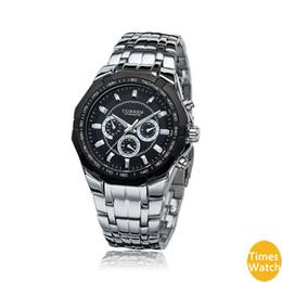 orologi di moda Sconti 2016 Curren 8084 3ATM uomini in acciaio inox sport impermeabili moda uomo d'affari guarda Vogue nuovo stile cina orologio di marca