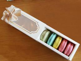 Wholesale Sushi Boxes Wholesale - Hot New Window Macaron box,cake box,gift box 150PCS LOT FREE SHIPPING