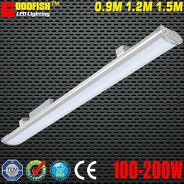 Wholesale Workshop Light Waterproof - 5FT 1500mm high power led batt lamp 200W LED LOW BAY LIGHT IP65 Waterproof led linear Light Warehouse parking lot lighting