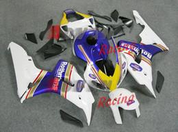 Набор для деконга honda онлайн-Горячие новые наклейки Белый обтекатель кузова комплект Honda CBR1000RR 2006-2007 121.