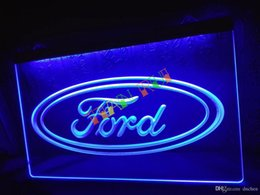 Wholesale Commercial Ford - LG007-b Ford-Neon-Sign home decor shop crafts led sign