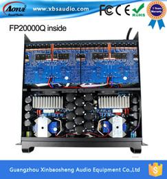 Wholesale Power Supply Prices - factory price line array Amplifier fp20000q high power amps ,2200w*4 amplificador de potencia linear power supply