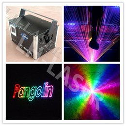 Wholesale Ilda Analog - ILDA 45K galvo MINI 2W RGB full color Animation analog laser lighting for christmas and holiday projector lighting