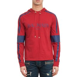 Wholesale Long Sleeve Shirt Double - Causal Men's Hoodies Sweatshirt Famous Brand Designer Pullover Sportwear Men Coat Jogger Running Sport Sweater shirts Men's Hoodie
