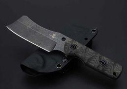 Wholesale Handmade Hunting Knives - Kingdom of Armory butcher handmade straight knife by David M. Rydbom folding Survival Knife 1pcs