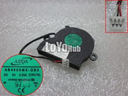 Wholesale Fan Hp Laptop - Free Shipping For HP Pavilion Mini HDX16 HDX18 Laptop CPU Cooler Fan AB4605MX-QB3 CWUT6 HYPRO Bearing