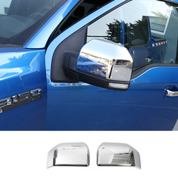 Wholesale Ford Mirrors - Rear View Mirror Decoration cover Trim High Quality Auto Exterior Accessories Fit For Ford F150 2016 +