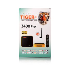 Wholesale Dvb S2 Iptv - Hot Selling Full HD Digital Satellite Receiver TIGER Z400pro DVB-S2 Set Top Box with 1 Month IPTV