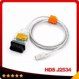 gm 46 chip Rebajas HDS J2534 v1.4.1 OBDII OBD2 Cable de diagnóstico J2534 para Honda CAN Bus Herramienta de diagnóstico con alta calidad envío gratis