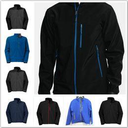 Wholesale Men S Suit Casual Slim - 2016 Hot Sale Men's Winter Apex Bionic Fleece Jackets Outdoor Windstopper Waterproof and Waterproof Bomber Jacket Free Shipping Ski Suits