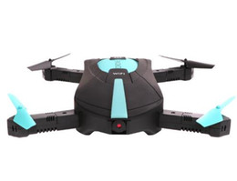 Wholesale Aerial Camera Lens - Best selling JY018 WiFi FPV Quadcopter Mini Dron Foldable Selfie Drone RC Drones with Camera HD FPV Professional RC Helicopter Gift