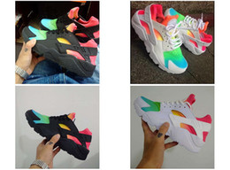 Wholesale Drop Shipping Fishing - 2017 New arrival Drop Shipping Wholesale Famous Huarache Run MULTI-COLOR Mens Womens Athletic Air Sneakers Sports Running Shoes Size 5.5-12
