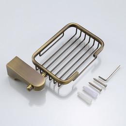 piatto di sapone in bronzo Sconti Accessori per il bagno Portasapone in alluminio Accessori per bagno in bronzo di marca Porta sapone