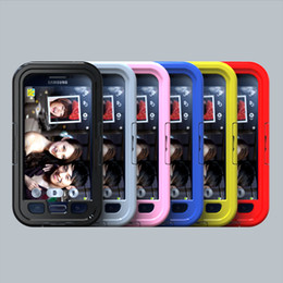 Wholesale Galaxy S4 Case Water Proof - 2016 brand new Waterproof Cell Phone Cases cover for Samsung Galaxy S6 S5 S4 S3 I9600 Water Proof Dirt Snow Shock Proof Mobile phone shell