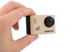 Wholesale Outdoor Roller - new Arrival SOOCOO C30 Wifi Ultra HD 4K@24fps 2.0 Screen 170 120 90 Angle Adjustable Waterproof Outdoor Sports Action Camera