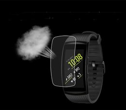 Wholesale Wholesale Watch Parts - Hot TPU screen prector for Fitbit Ionic Samsung Gear Fit Pro 2   Samsung Gear Sport  Polar  Tomtom runner  tomtom touch LCD Screen Protector