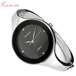 Wholesale Ladies Stainless Steel Jewelry - 2016 New Fashion Kimio Relojes mujer Wristwatch Bracelet Quartz watch Woman Ladies Watches Clock Female Dress Relogio Feminino k2682