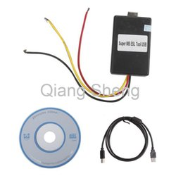Wholesale Read Locks - Super MB ESL USB Tool for W202 W208 W210 W203 W209 W219 W211 read write erase the EEprom of Electronic Steering Lock ESL devices