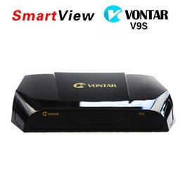Wholesale Dvb S2 Usb Box - VONTAR V9S DVB-S2 HD Satellite Receiver Support USB Port WEB TV USB Wifi Build in CCCAMD NEWCAMD Weather Forecast Miracast Set Top BOX