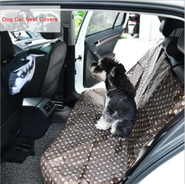 Wholesale Cover Seat Pets - 1.4*1.1M Pet Back Seat Cover Dog Mattress Safety Waterproof Durable Comfort Seat Cushion Non Slip Protection Mat Pet Car Supplies YYA335