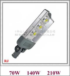 Wholesale I Ce - Epistar COB LED street light lamp LED road light IP65 waterproof 70W   140W   210W AC85V-265V aluminum 285 module I RJ-LS-H