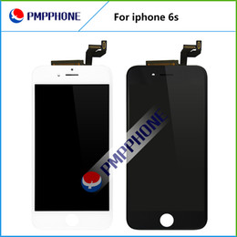"Wholesale Quality Repairs - Best AAA quality Lcd Display replacement for iphone 6s 4.7"" with 3D touch digitizer assembly repair parts white black color free shipping"
