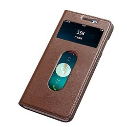 Wholesale Bbk Vivo - For BBK Vivo X7 Plus Case Original Colorful Window Flip Cover Cute Ultra-Thin Slim Luxury Genuine Leather Case For BBK Vivo X7 Plus