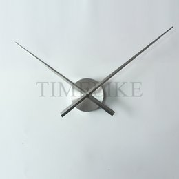 Wholesale Diy Decor Clock - Wholesale-Hot Sale DIY Large Clock Hands Needles for Wall Clock 3D Home Art Decor Quartz Clock Mechanism Accessories Horloge Murale