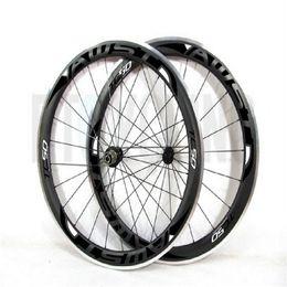 Wholesale Cheap Carbon Bike Wheels - Alloy Braking Surface Carbon Wheelset Road Bike 700C Aluminium 50mm Carbon Wheels Clincher Race Bike Chinese cheap Carbon factory price