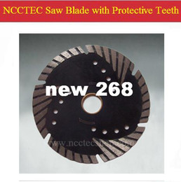 Wholesale Diamond Blade Saw For Granite - 4'' Diamond saw blade with protective teeth ( 5 pcs per package) FREE shipping | 105mm DRY cutting disk for cut marble granite