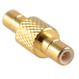 Wholesale Smb Adapter Connector - 1Pc Adapter SMB male to SMB male plug RF connector straight M M G00178 BAR