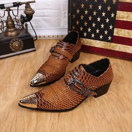 Wholesale Dancing Shoes Buckles - Buckle Designer Dancing Shoes Men Wedding Shoes Flats Brown Mens Dress Shoes Genuine Leather