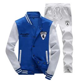 Wholesale Branded Brown Color Suit Men - Mens Tracksuit Set Sweat Suit Men Polos Suits Men's Tracksuits Jacket Sportswear Sets Jogging Suits Brand Clothing XXXXL Hoodies
