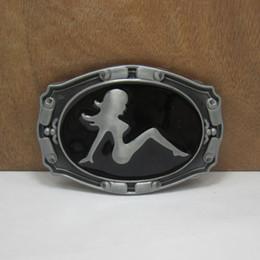 Wholesale Cowboy Sexy Man - Wholesale-Gorgeous Fashion Sexy girl belt buckles metal west cowboy brand DIY wild fashion men black silver belt buckle Turbo Nos