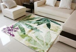Wholesale European Floor Rugs - Stock Retail Suede BedRoom Comfort Carpets Floorcloth Floor Pad Matting Cover Area Rugs Doormats Brand New Free Shipping